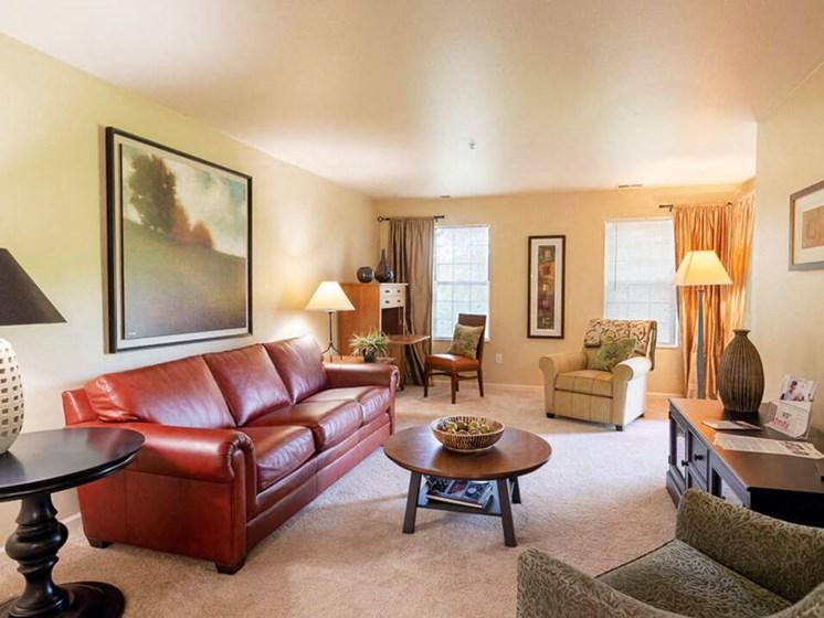 Big Apartment Living Room
