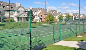 Tennis Court at River Oaks Apartments in Kentwood, MI