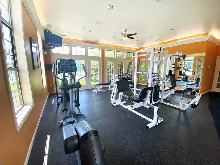 Fitness Center at River Oaks Apartments