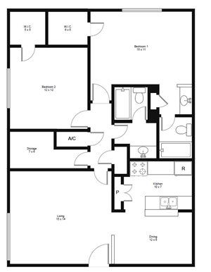 Cheap  Bedroom Apartments In Houston Tx