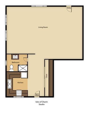 Studio Apartment Los Angeles isles of charm apartments, 3130 rowena avenue, los angeles, ca