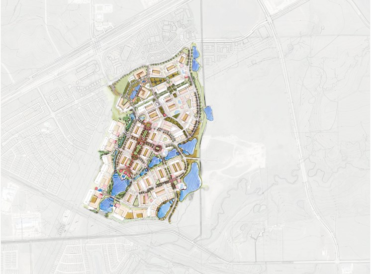 Community Sitemap of Discovery at The Realm (Castle Hills), Lewisville