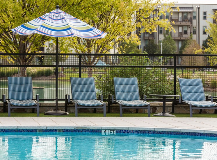 Poolside Seating for Relaxation