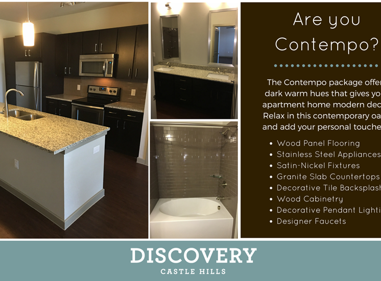 Contempo Package Discovery at The Realm (Castle Hills), Lewisville, Texas