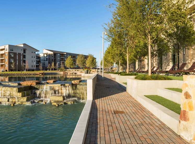 Discovery Promenade and Waterfall