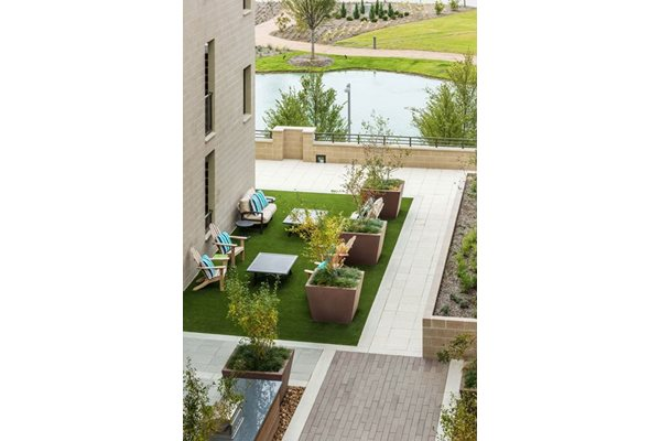 Raised Patio at Discovery at The Realm (Castle Hills), 3600 Windhaven Parkway, 75056