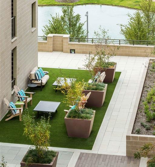 Discovery Courtyard Seating Areas