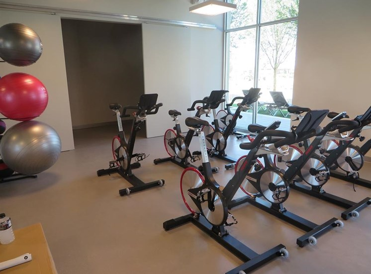 Fitness Spin Room at Discovery at the Realm (Castle Hills), Lewisville