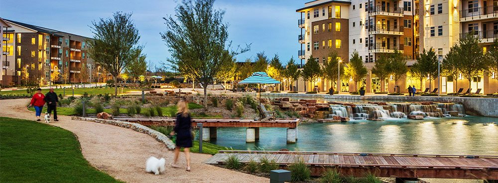 walk with your pet around Discovery at the realm (castle hills) Lewisville, TX
