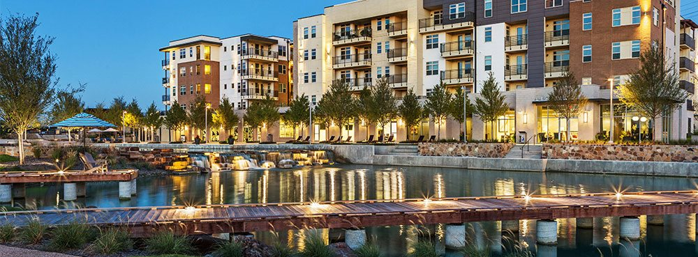 Discovery at the Realm (Castle Hills) is a walkable community in Lewisville, TX