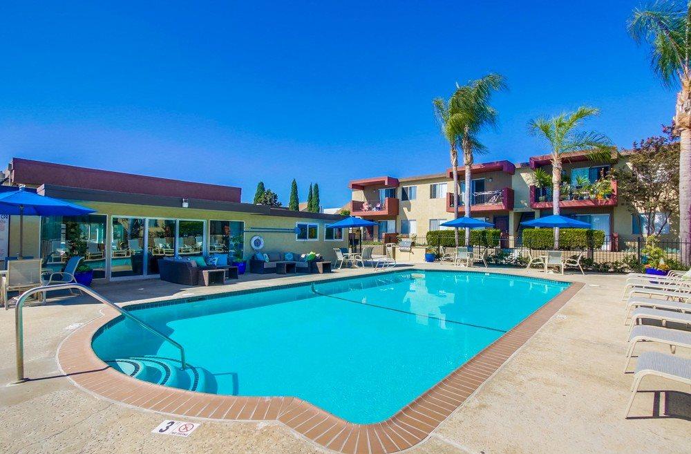 Pool exterior - Mesa Vista Apartments