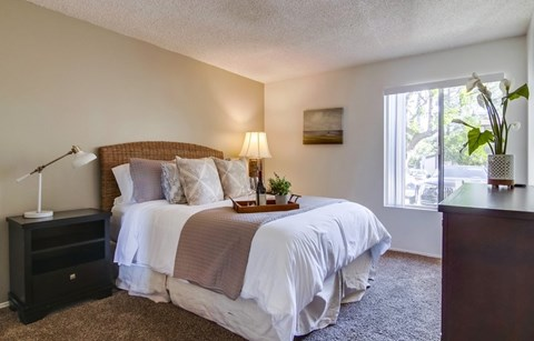 Shasta Lane Apartments Furnished Apartment Bedroom