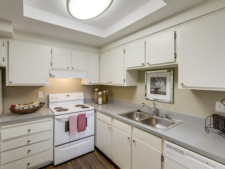 Mesa Village Apartments Furnished Apartment Kitchen