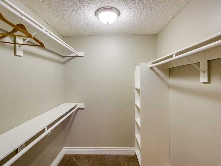 Mesa Village Apartments Walk-in Closet