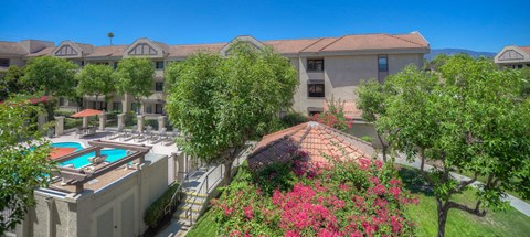 Casa Grande Senior Apartment Homes Exterior Aerial View