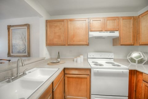 Casa Grande Senior Apartment Homes Kitchen