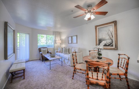 Casa Grande Senior Apartment Homes Furnished Living Room & Dining Room