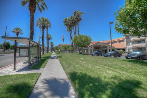 Casa Grande Senior Apartment Homes Exterior View From Sidewalk