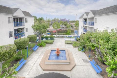 Casa Pacifica Senior Apartment Homes Courtyard Views
