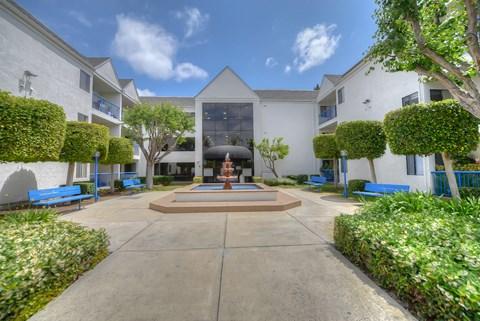 Casa Pacifica Senior Apartment Homes Exterior Front View