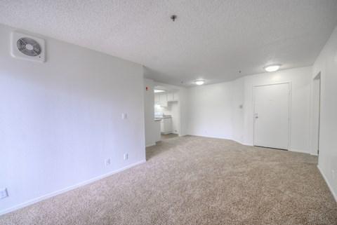 Casa Pacifica Senior Apartment Homes Empty Apartment Living Room