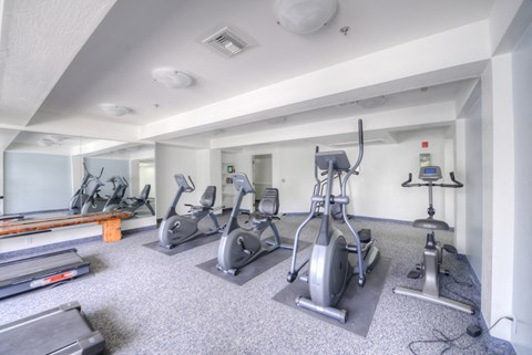 Casa Pacifica Senior Apartment Homes Lifestyle - Fitness Center