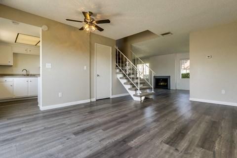 Cypress Park Apartments Empty Apartment Living Room