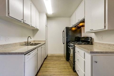 Cypress Park Apartments Empty Apartment Kitchen