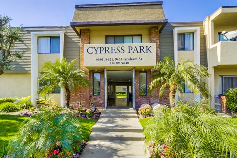 Cypress Park Apartments Exterior Front View