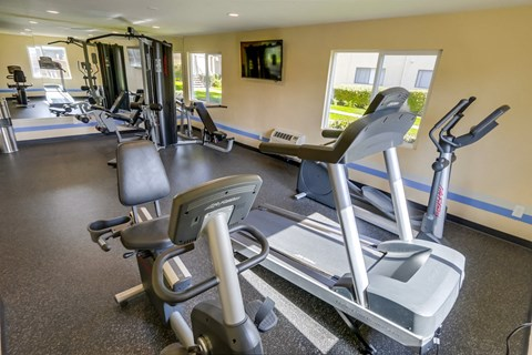 Cypress Park Apartments Lifestyle - Fitness Center