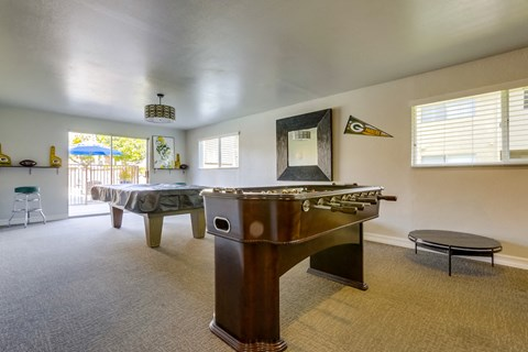 Cypress Park Apartments Lifestyle - Clubhouse Games