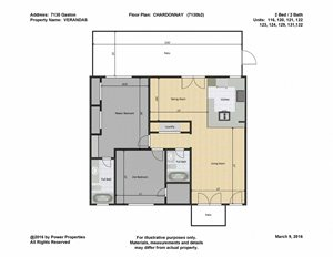 7130 Gaston VERANDAS - CHARDONNAY (2 Bed - 2 Bath)