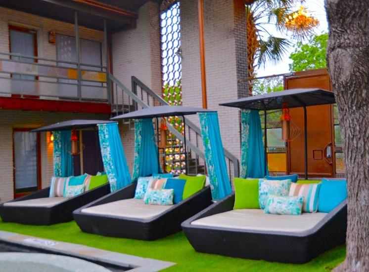 5808 Gaston The Villa Boutique Custom Cabanas