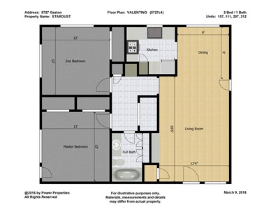 5727 Gaston STARDUST - VALENTINO (2 Bed - 2 Bath)