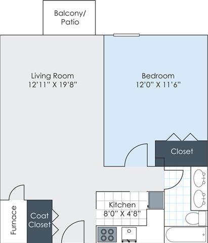 The Arboretum - Renovated Floor Plan 6