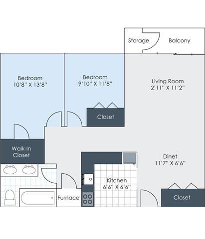 The Delhi Floor Plan 9