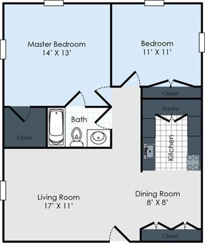 The Hemingway Floor Plan 4