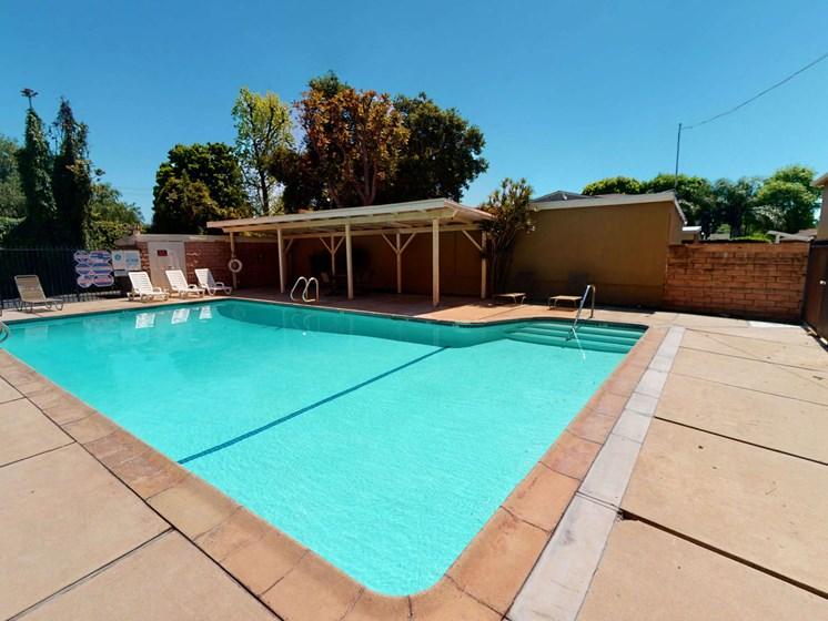 Exterior_Pool at Sylvan Gardens, Van Nuys, CA, 91401