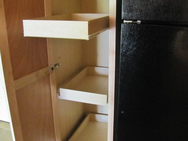 Drawers in Cabinets