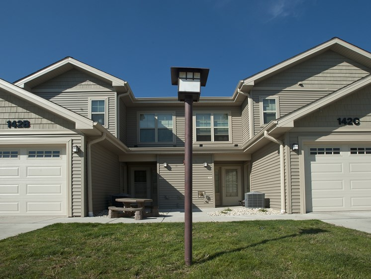 Pleasant View Townhomes front entrance