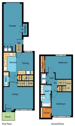 Apartment Floor Plan 1