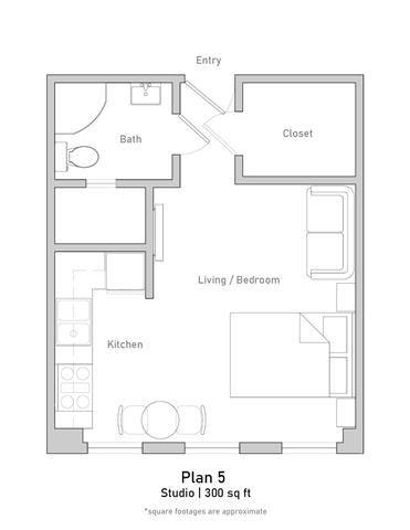 Studio - Plan 5
