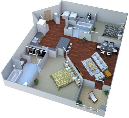 Eastover Floor Plan 14
