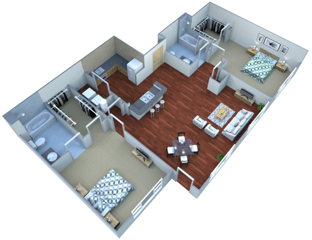 Laurel Floor Plan 26
