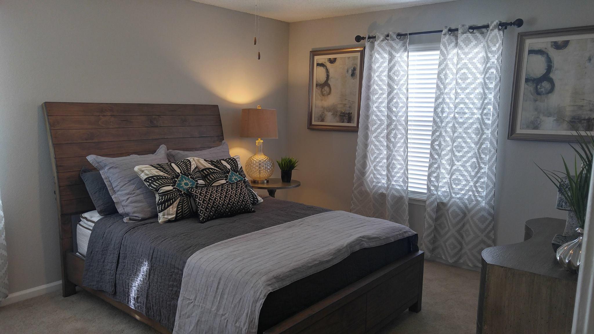 Guest Bedroom. Park At Boulder Creek Apartments | Columbia, SC