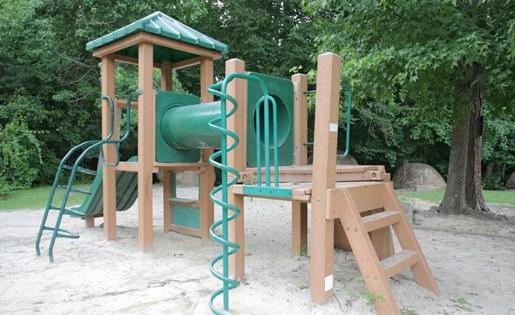 Children's Playscape area