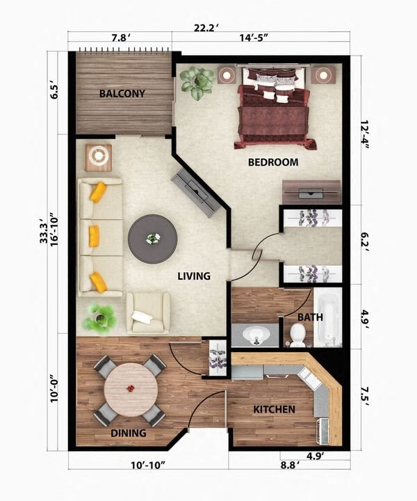 The Aspen Floor Plan 2