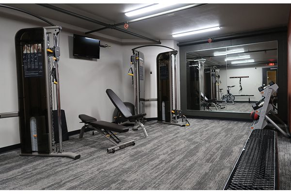 Fully Equipped Fitness Center at Mountain Village Apartments, Wisconsin, 53188
