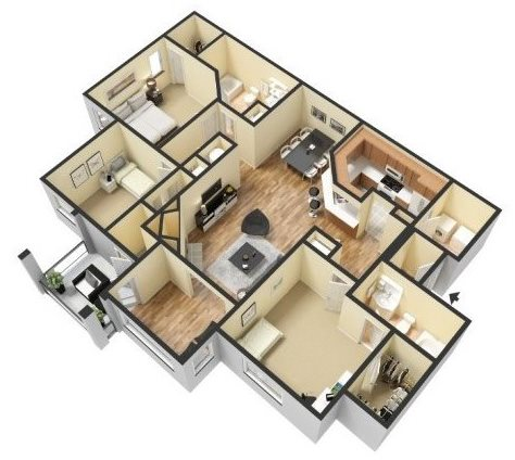 HABERSHAM Floor Plan 6