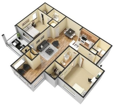 CHARLESTON Floor Plan 3